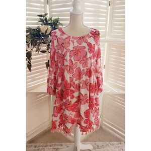 SIMPLY SOUTHERN NEW FLORAL TASSELL DRESS